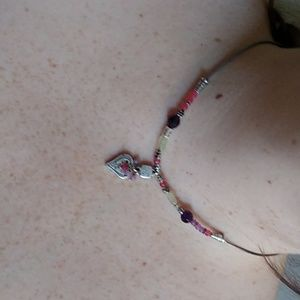 Brighton Beads & Heart Necklace